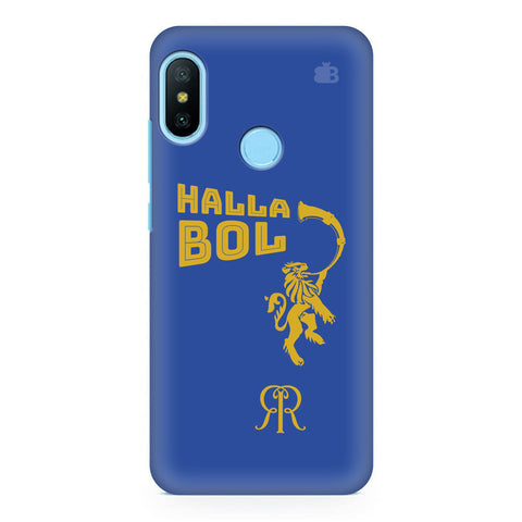 Rajasthan Royals Xiaomi Redmi Note 6 Pro Cover