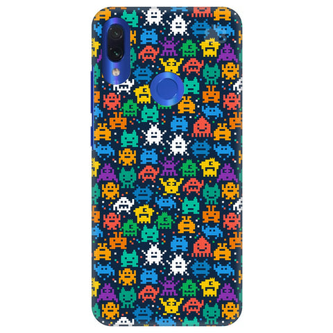 16 Bit Pattern Xiaomi Redmi Note 7 Cover