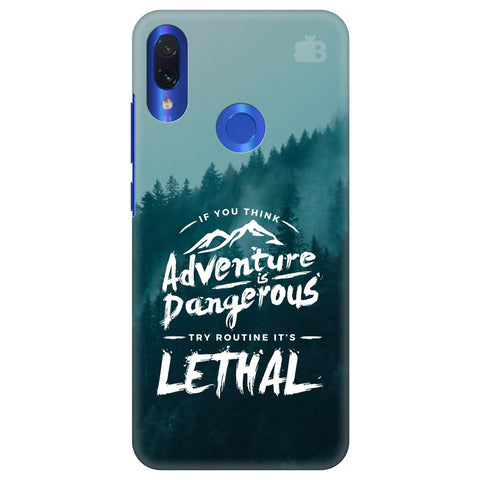 Adventure Xiaomi Redmi Note 7 Cover