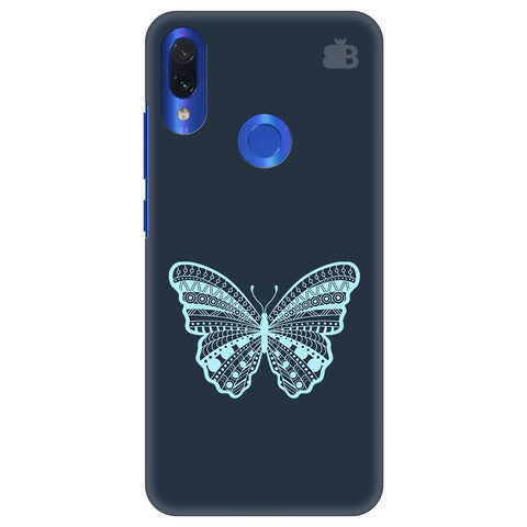 Ethnic Butterfly Art Xiaomi Redmi Note 7 Cover