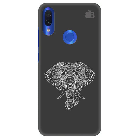 Ethnic Elephant Art Xiaomi Redmi Note 7 Cover