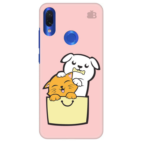 Kitty Puppy Buddies Xiaomi Redmi Note 7 Cover