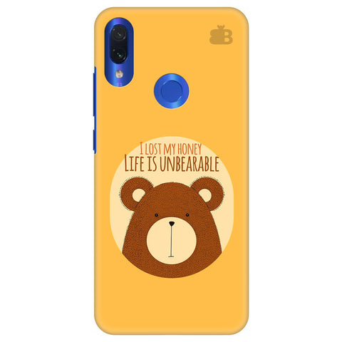 Life is Unbearable Xiaomi Redmi Note 7 Cover