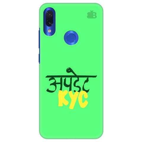 Update KYC Xiaomi Redmi Note 7 Cover