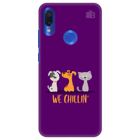 We Chillin Xiaomi Redmi Note 7 Cover