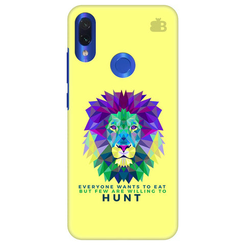 Willing to Hunt Xiaomi Redmi Note 7 Cover