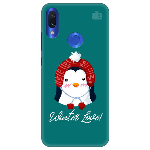 Winter Love Xiaomi Redmi Note 7 Cover