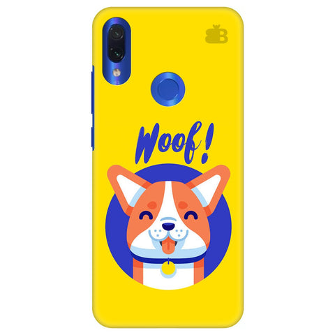Woof Xiaomi Redmi Note 7 Cover