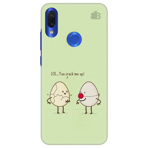 You Crack me up Xiaomi Redmi Note 7 Cover