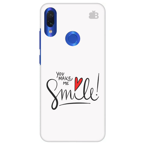 You make me Smile Xiaomi Redmi Note 7 Cover