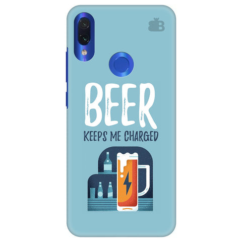 Beer Charged Xiaomi Redmi Note 7 Pro Cover