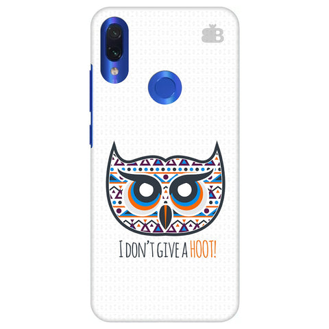Dont give a Hoot Xiaomi Redmi Note 7 Pro Cover