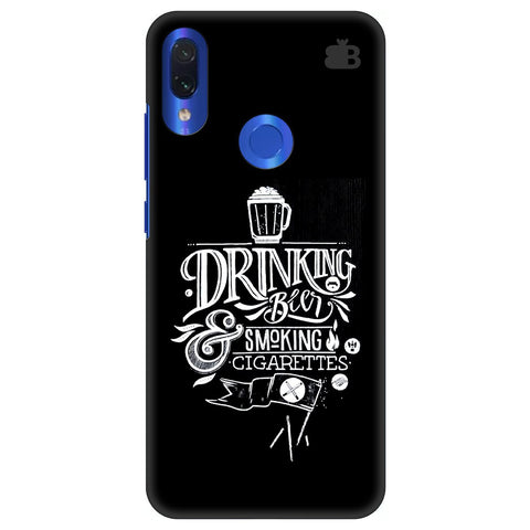 Drinking Beer Xiaomi Redmi Note 7 Pro Cover