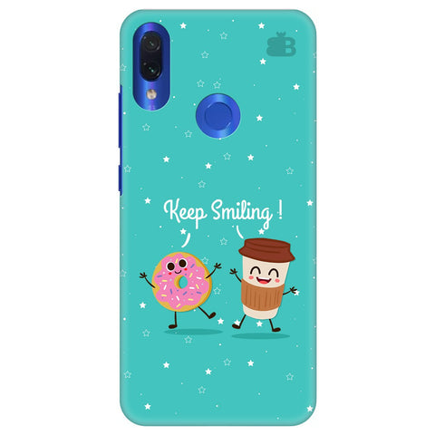 Keep Smiling Xiaomi Redmi Note 7 Pro Cover