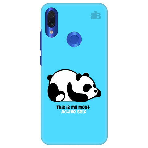 Most Active Panda Xiaomi Redmi Note 7 Pro Cover