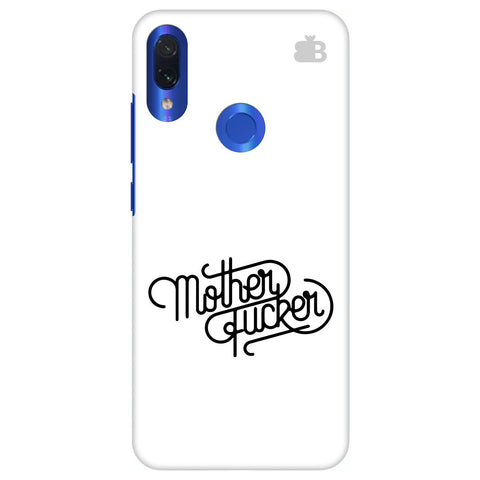 Mother F er Xiaomi Redmi Note 7 Pro Cover