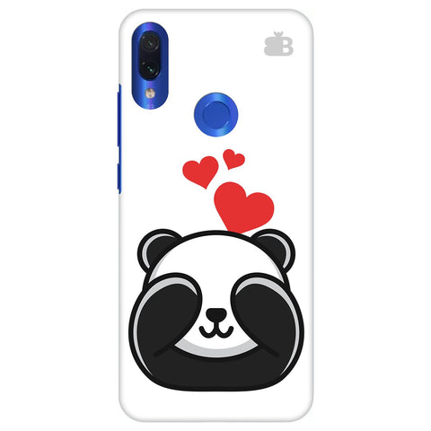 Panda In Love Xiaomi Redmi Note 7 Pro Cover