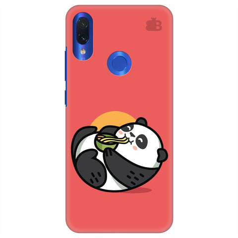 Panda eating Noodles Xiaomi Redmi Note 7 Pro Cover