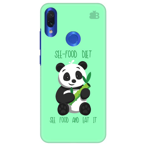 See-Food Diet Xiaomi Redmi Note 7 Pro Cover
