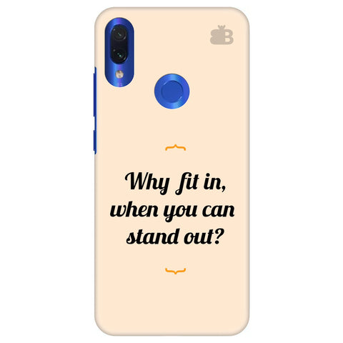 Stand Out Xiaomi Redmi Note 7 Pro Cover