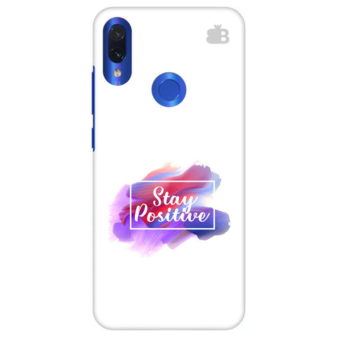 Stay Positive Xiaomi Redmi Note 7 Pro Cover