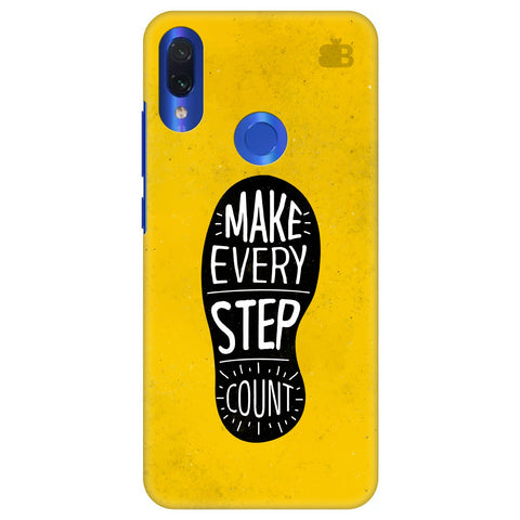 Step Count Xiaomi Redmi Note 7 Pro Cover