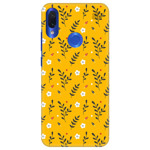 Summer Floral Pattern Xiaomi Redmi Note 7 Pro Cover