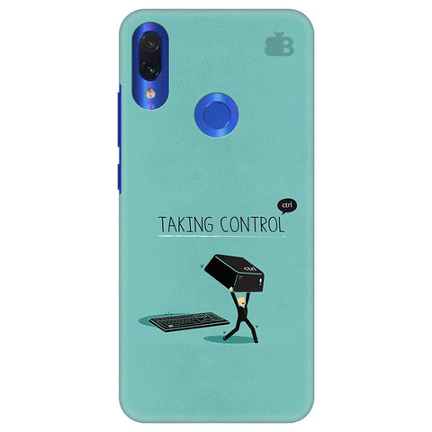 Taking Control Xiaomi Redmi Note 7 Pro Cover
