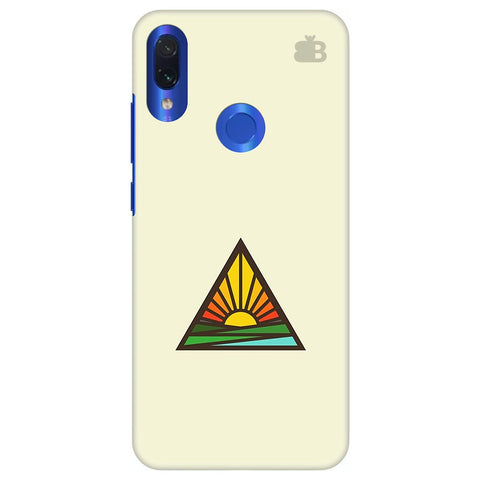Triangular Sun Xiaomi Redmi Note 7 Pro Cover