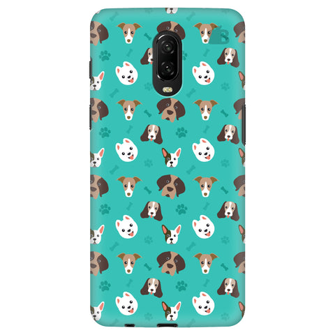 Doggie Pattern Xiaomi Redmi Note 8T Cover