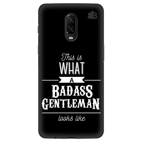 Badass Gentleman Xiaomi Redmi Note 8 Cover
