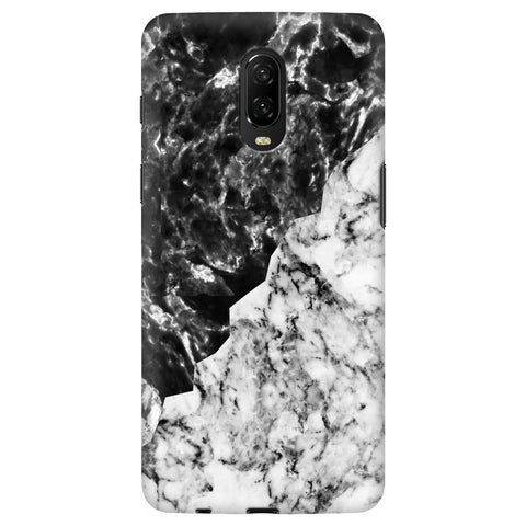 Black White Marble Xiaomi Redmi Note 8 Cover