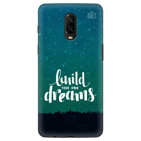 Build Your Own Dreams Xiaomi Redmi Note 8 Cover