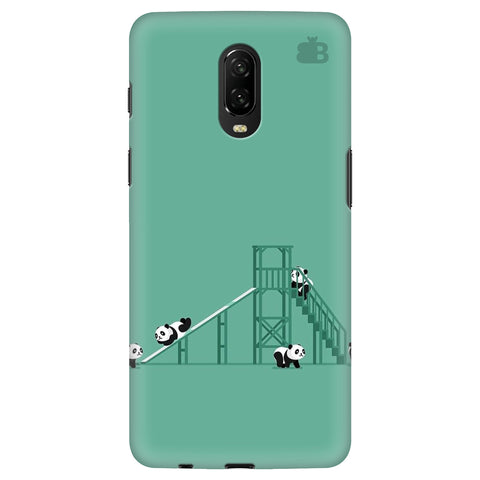 Pandas Playing Xiaomi Redmi Note 8 Cover