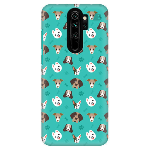 Doggie Pattern Xiaomi Redmi Note 8 Pro Cover