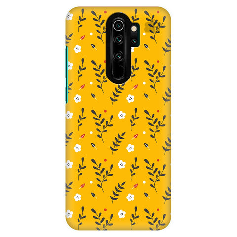 Summer Floral Pattern Xiaomi Redmi Note 8 Pro Cover