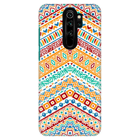 Wavy Ethnic Art Xiaomi Redmi Note 8 Pro Cover