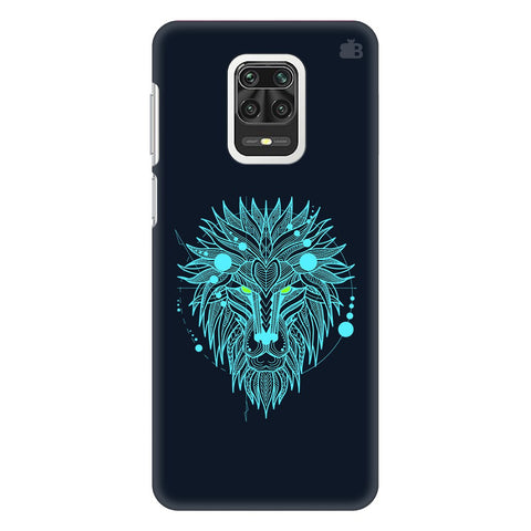 Abstract Art Lion Xiaomi Redmi Note 9 Pro Cover