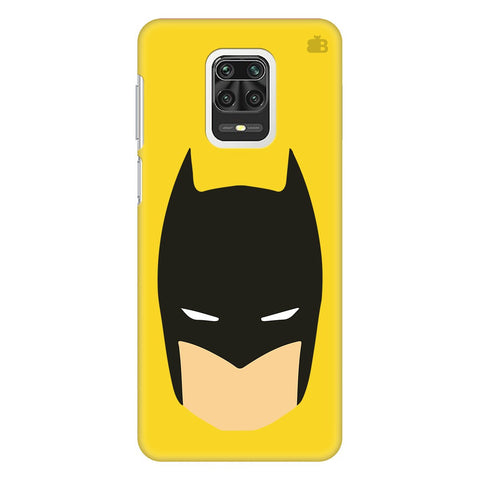 Angry Masked Superhero Xiaomi Redmi Note 9 Pro Cover
