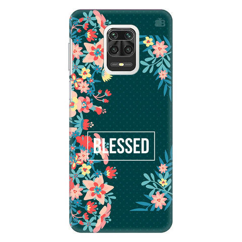 Blessed Floral Xiaomi Redmi Note 9 Pro Cover
