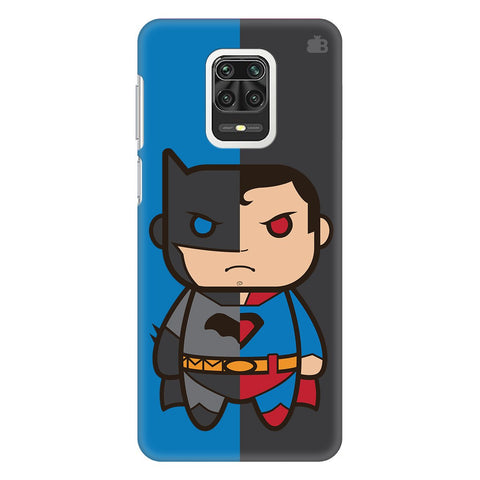 Cute Superheroes Annoyed Xiaomi Redmi Note 9 Pro Cover