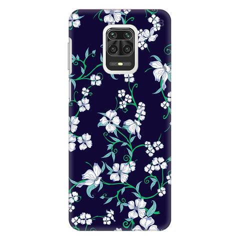 Dogwood Floral Pattern Xiaomi Redmi Note 9 Pro Cover