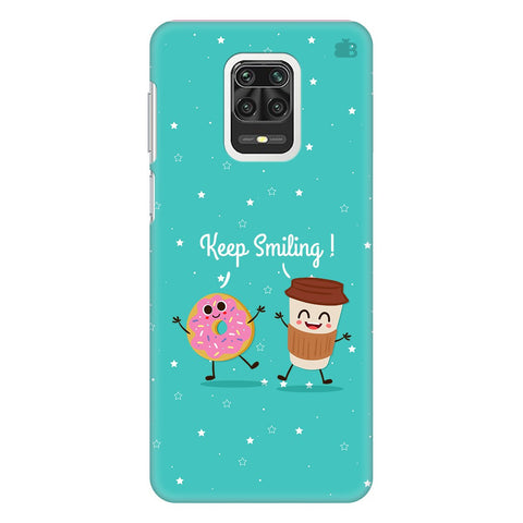 Keep Smiling Xiaomi Redmi Note 9 Pro Cover