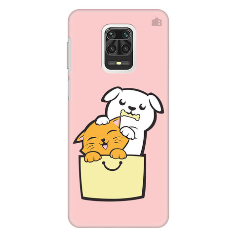 Kitty Puppy Buddies Xiaomi Redmi Note 9 Pro Cover