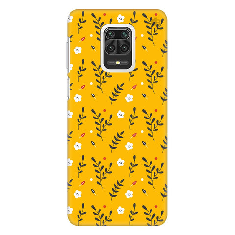 Summer Floral Pattern Xiaomi Redmi Note 9 Pro Cover