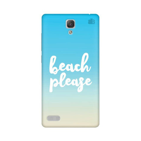 Beach Please Xiaomi Redmi Note Prime Phone Cover