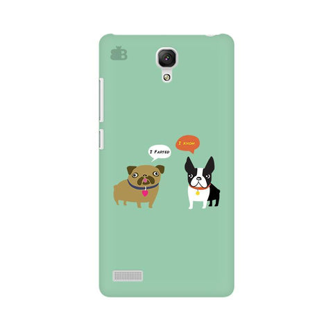 Cute Dog Buddies Xiaomi Redmi Note Phone Cover