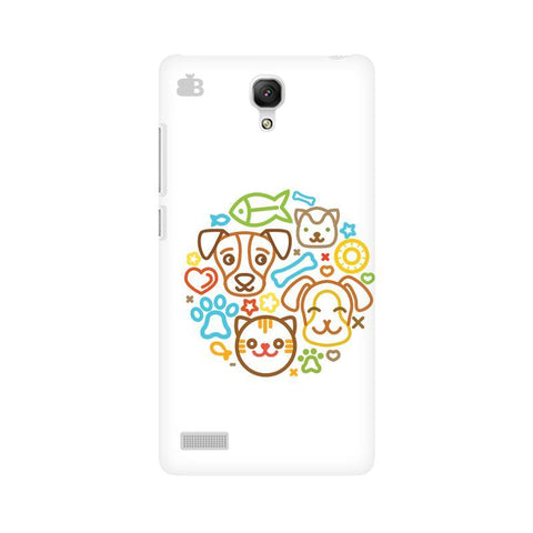 Cute Pets Xiaomi Redmi Note Phone Cover