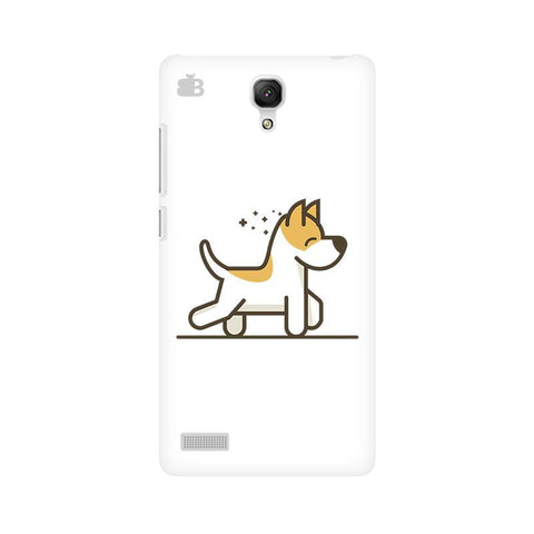 Happy Puppy Xiaomi Redmi Note Phone Cover