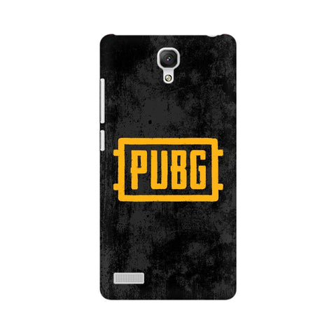 PUBG Xiaomi Redmi Note Cover